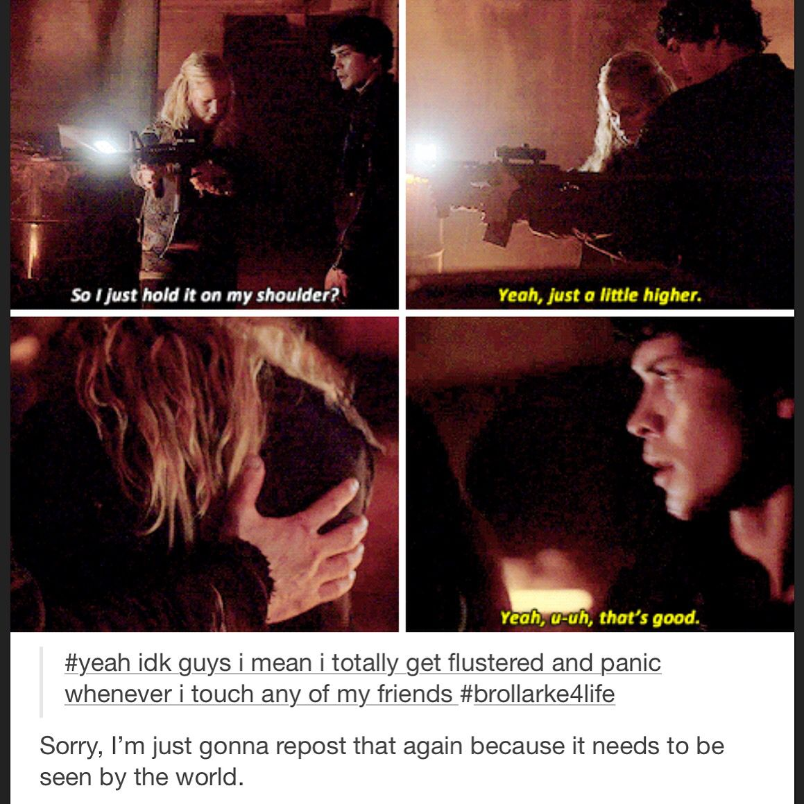 Bellarke / Bellamy Blake and Clarke Griffin / Bob Morley and Eliza Taylor / Day Trip / The 100