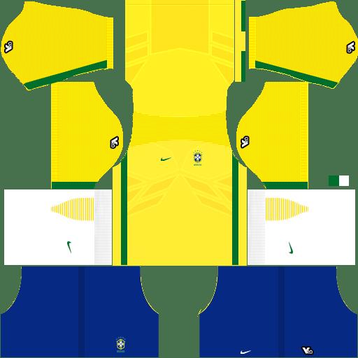 841240f21c3 Brazil 2018 World Cup Kits and Logo URL Dream League Soccer - DLSCenter