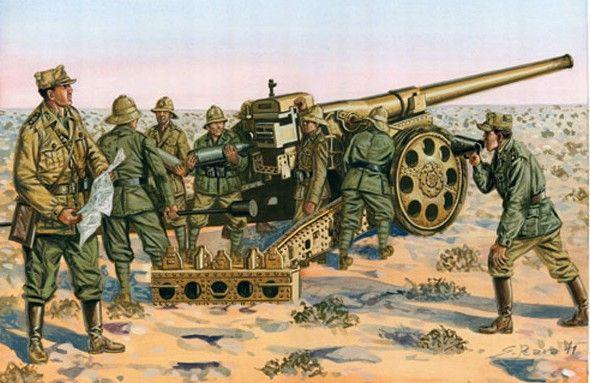 Italian  WW2   Cannon