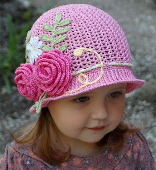 Quién no ama estos bellos sombreros de Panamá en crochet? Son ...