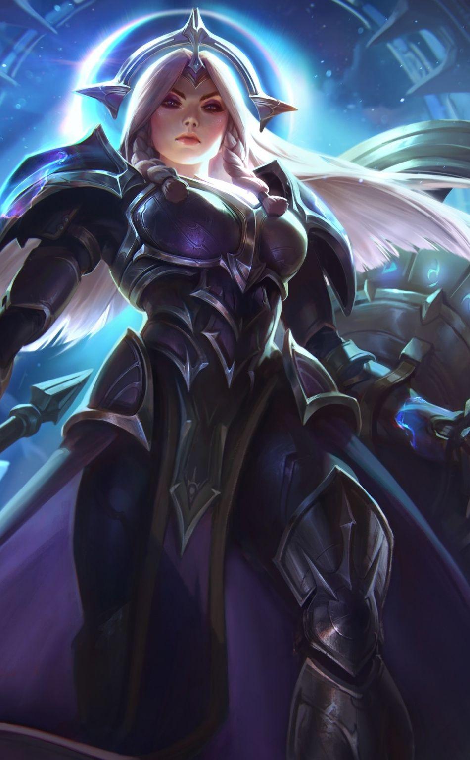 Hot Leona Online Game League Of Legends 950x1534 Wallpaper