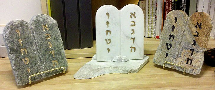 Wow The Ten Commandments Hand Crafted In Marble And Granite Stoned Gift Stone Handcraft
