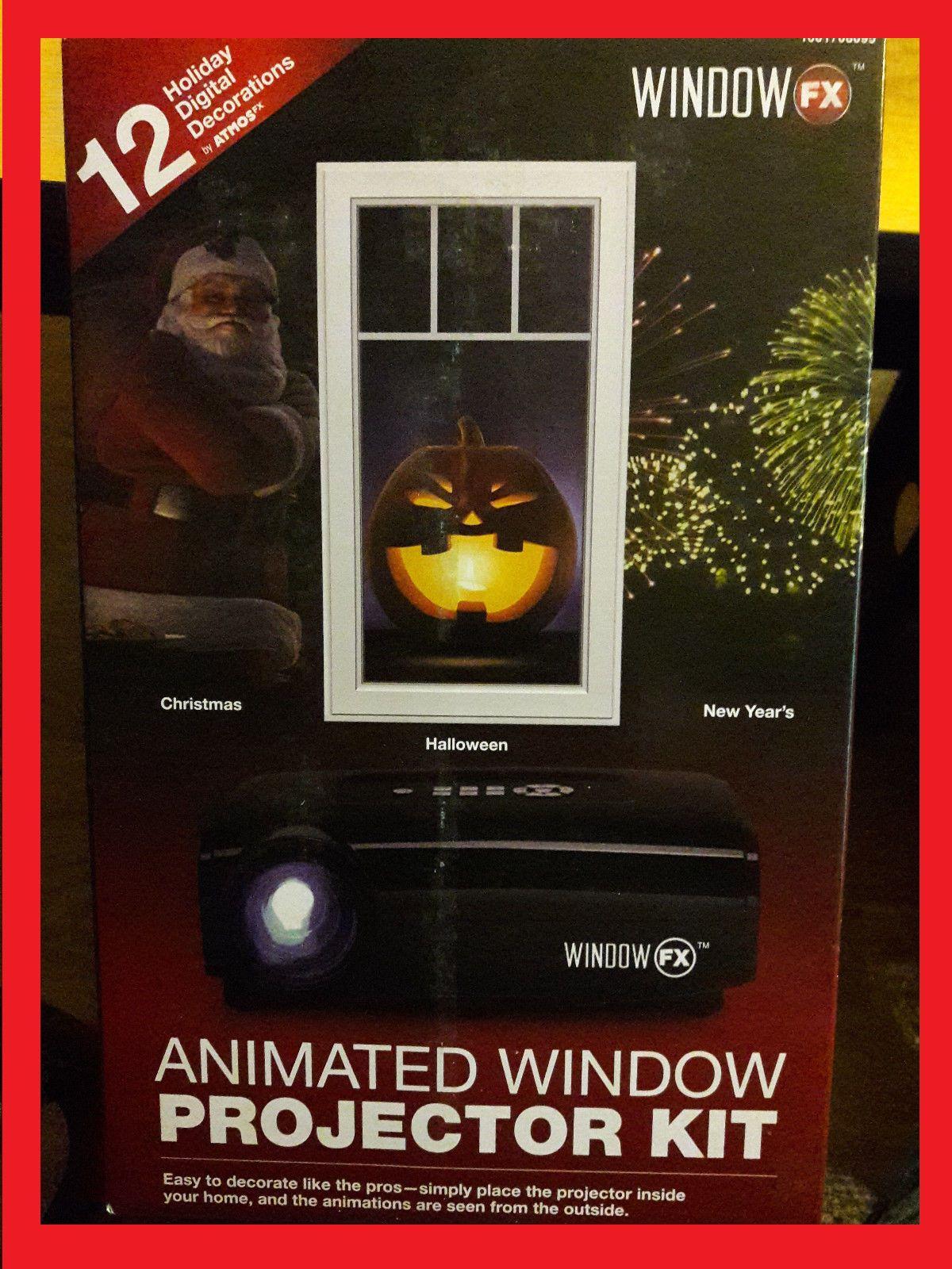 48.99 NEW Halloween Holiday Christmas Animated Window