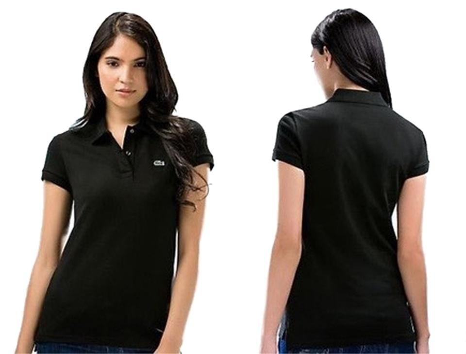 Lacoste black tee shirt size 4 s lacoste polo shirt
