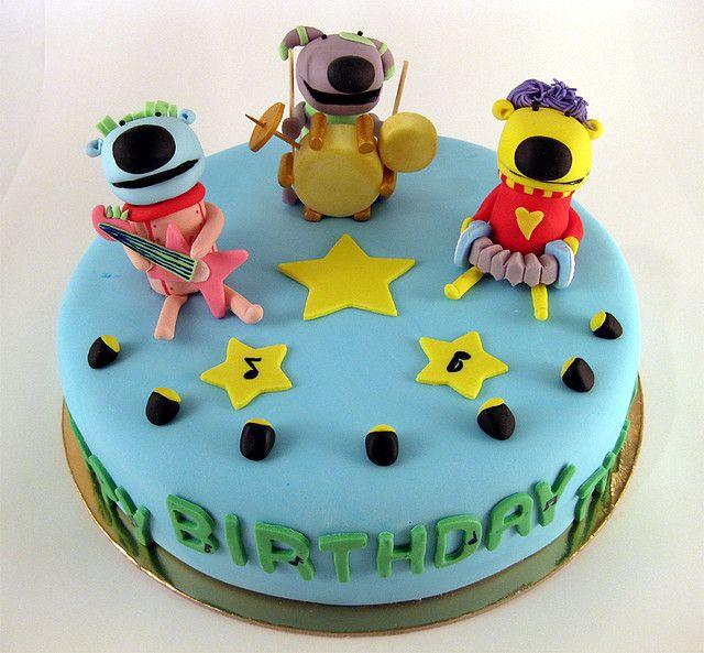 Cake, Big Music, 6th Birthday Parties