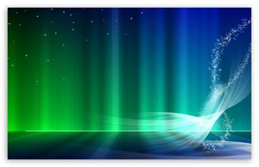 Vista Blue And Green Aurora wallpaper | My first board | Pinterest ...