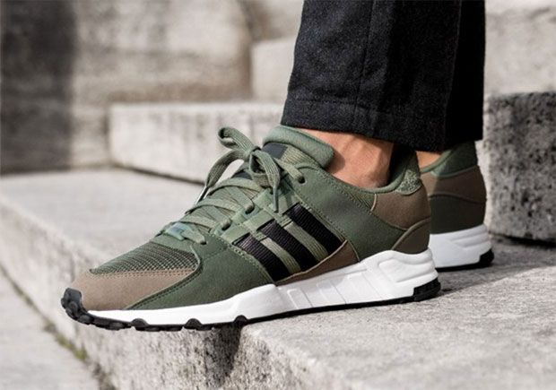 new product 1abe4 7f664 adidas EQT Support 93 Olive Green BY9628 | What's Crackin ...