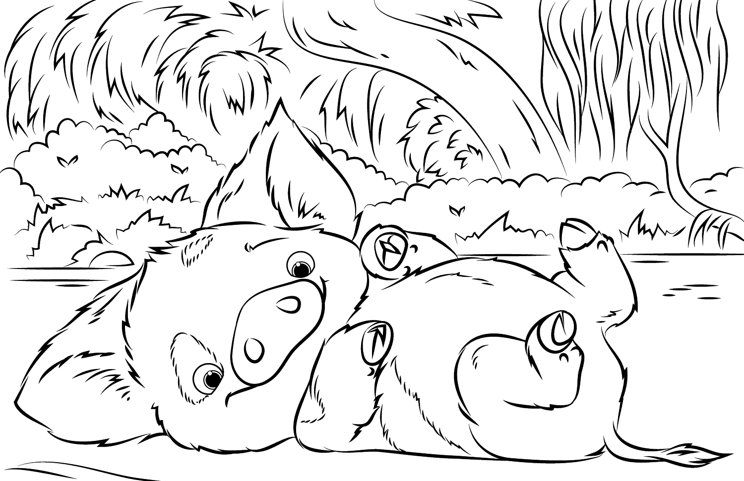 35 Printable Moana Coloring Pages Moana Coloring Moana Coloring Pages Disney Coloring Pages