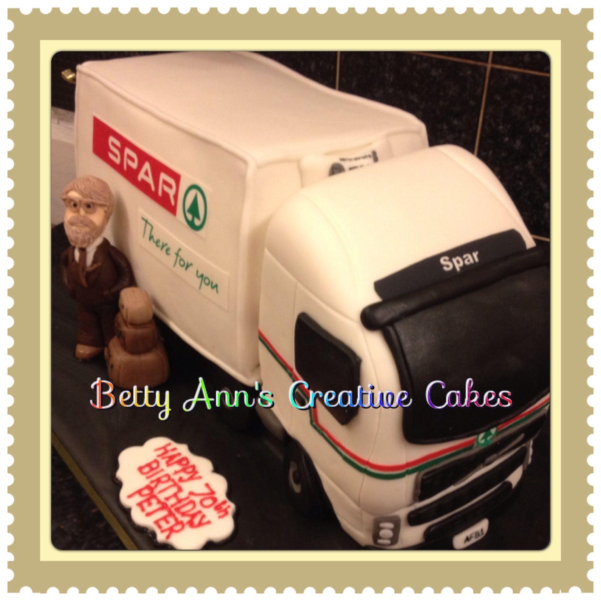 Spar Lorry Novelty Cake My Own Work Pinterest Cake