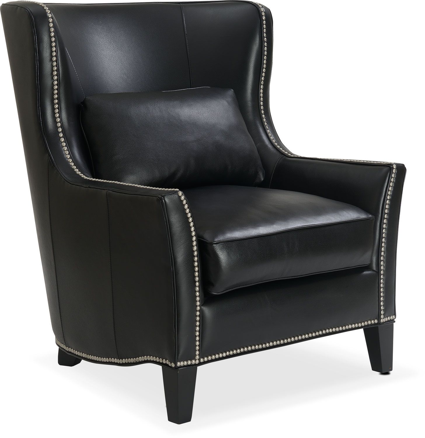 accent and occasional furniture - fenwick accent chair - black