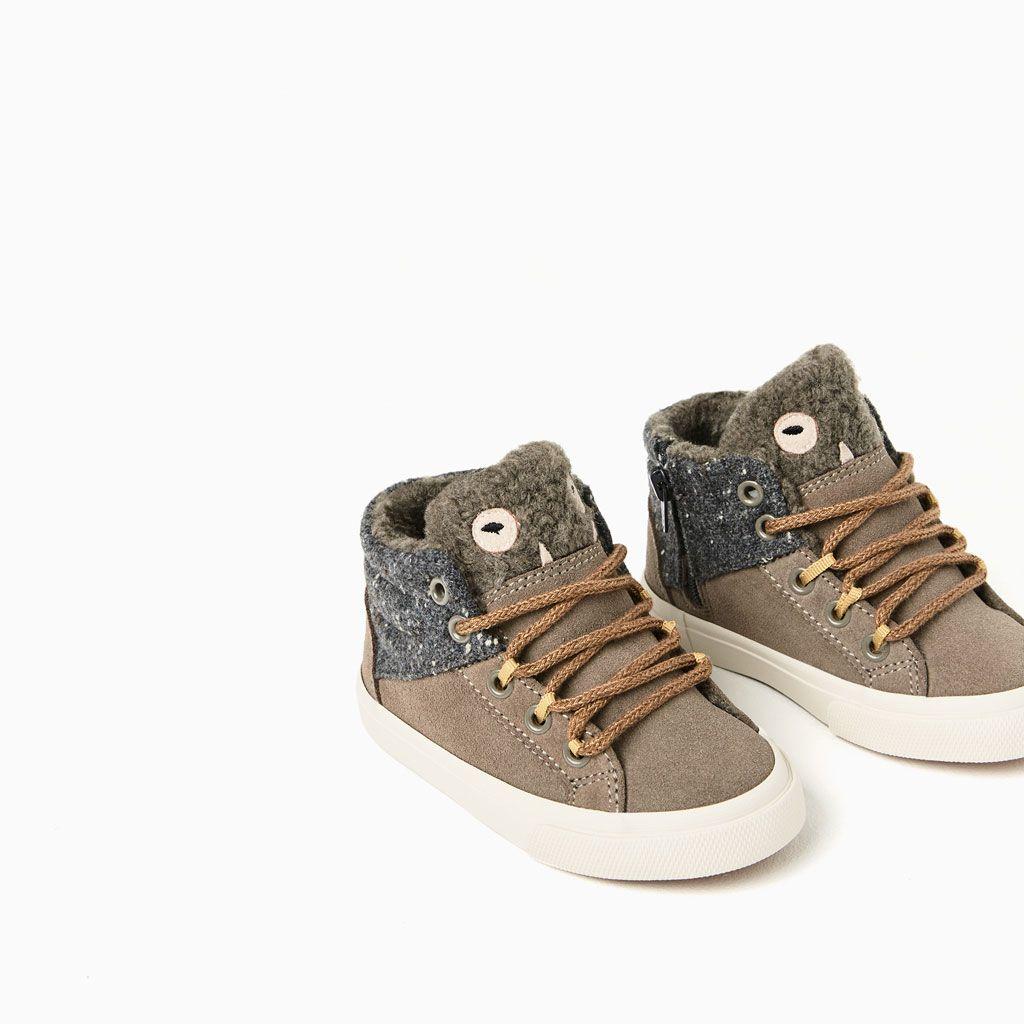 a27d5be151c34 Calçados Infantis · ZARA - NIÑOS - BOTÍN DEPORTIVO MONSTRUITO Sapatos  Menina