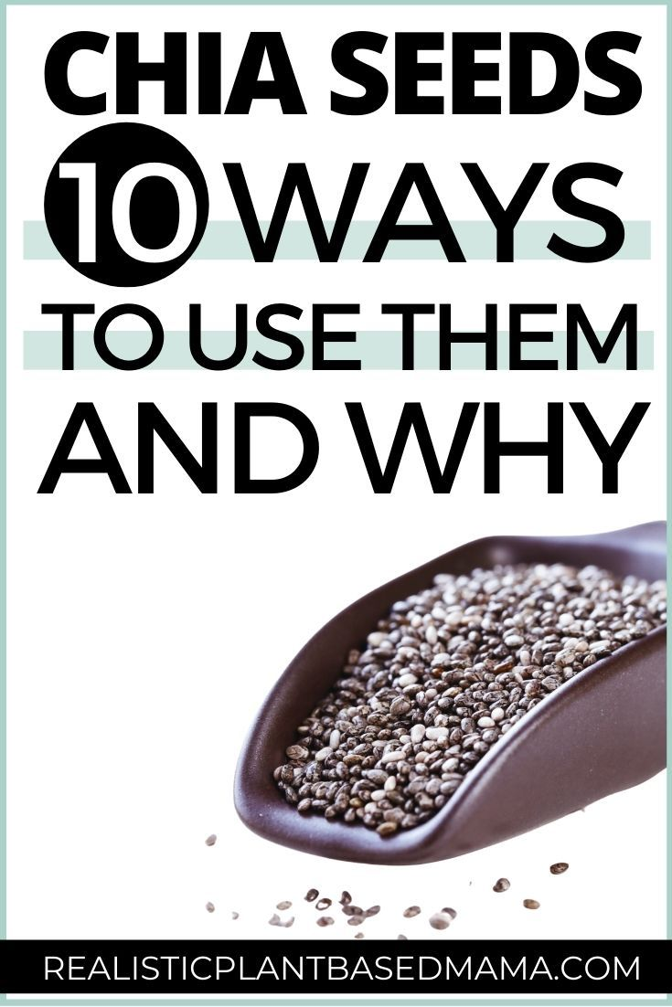 HOW TO USE CHIA SEEDS IN 10 EASY RECIPES + Nutriti