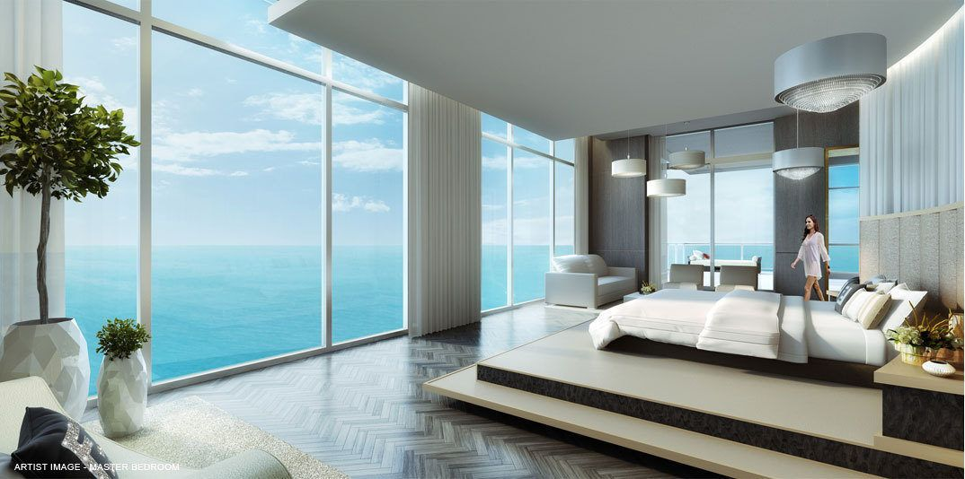 Mansion Master Bedrooms mansions at acqualina penthouse hits the market for $55m
