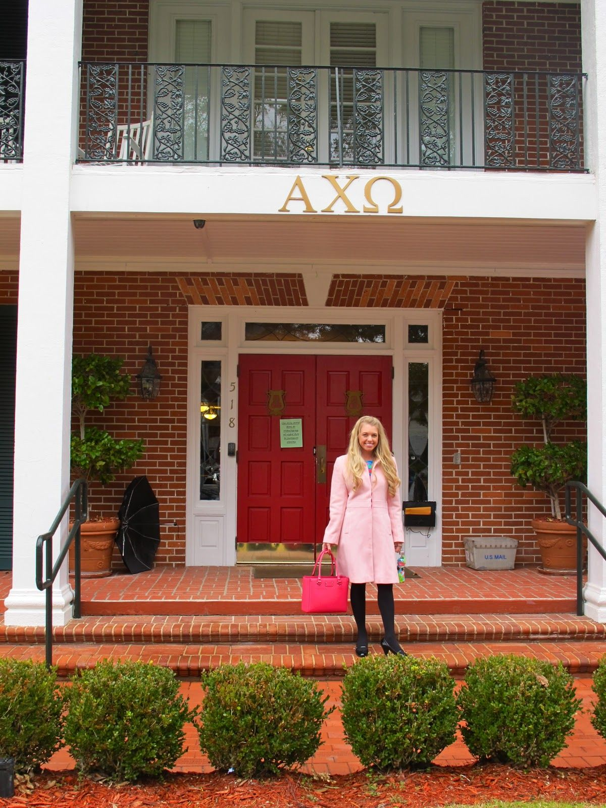 Axo Alpha Chi Omega Fsu I Wish We Had Houses At Wilmy This Is