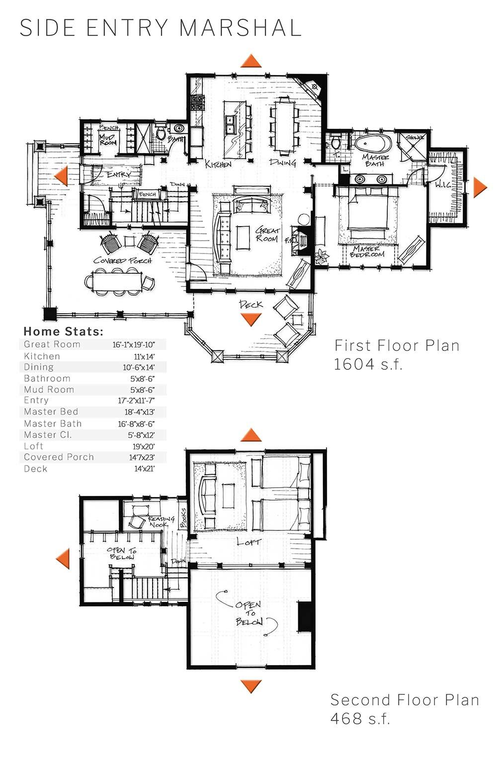 Timber Home Plan For Our Side Entry Marshal Design House Plans Timber Frame Homes Floor Plans
