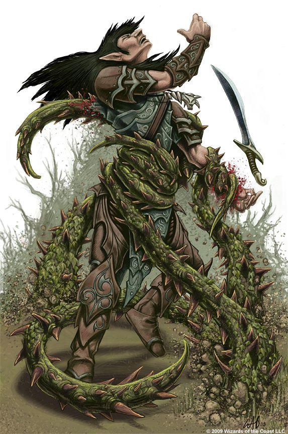 Ambush Vine by christopherburdett on deviantART | Plant monster, Fantasy  monster, Dungeons and dragons