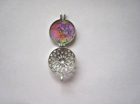 Water Birth Silver Aromatherapy Locket by LaborNeighbor on Etsy, $25.00