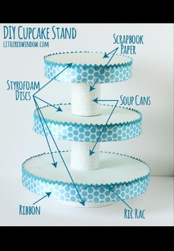 Diy cupcake stand size to need crafts diy pinterest for Cupcake stand plans