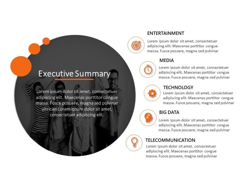 Executive Summary Powerpoint Template 43 Powerpoint Templates