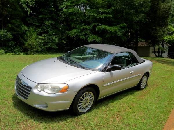 Used 2005 Chrysler Sebring For Sale 5 395 At Burlington Nc