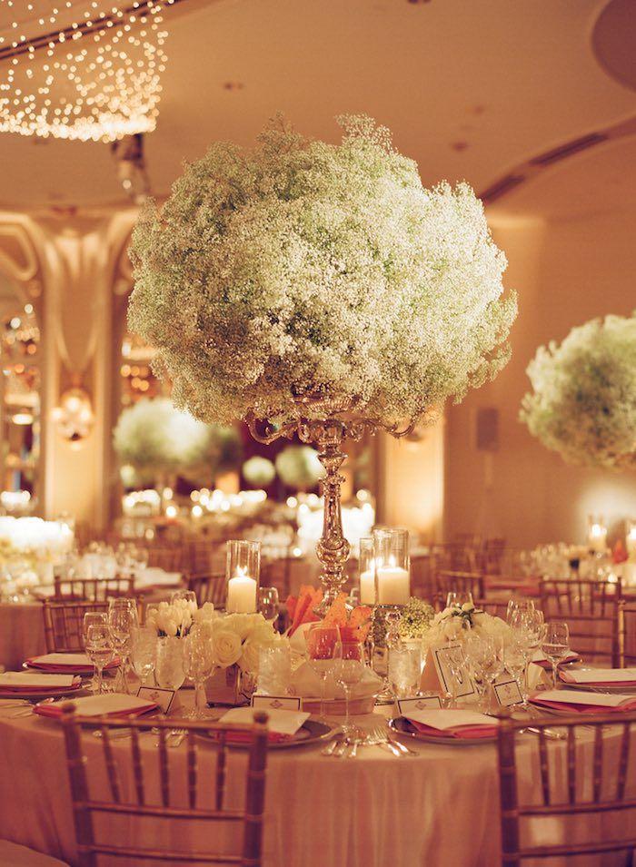 Glamorous Wedding Centerpieces Wedding Decorations