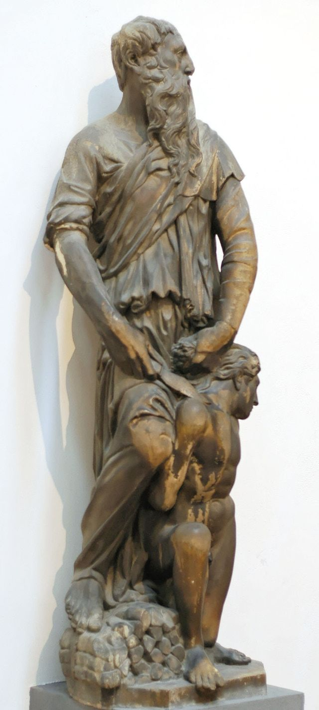 donatello sculptures did you know that the genesis story of