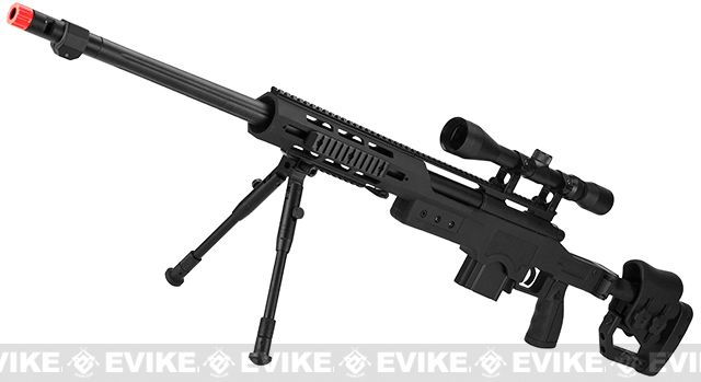WELL MB4411D Bolt Action Airsoft Sniper Rifle w/ Scope
