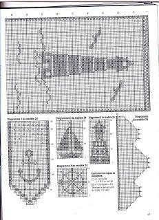 maritim h keln crochet marine nautic gesammelte anleitungen pinterest. Black Bedroom Furniture Sets. Home Design Ideas