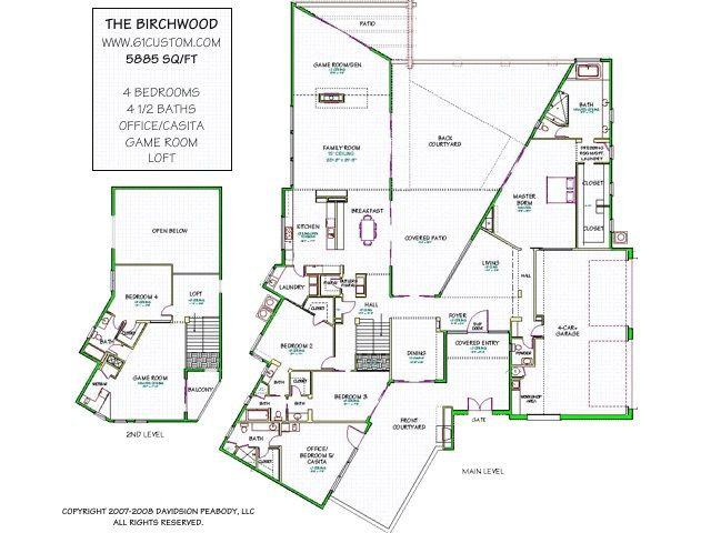 Awesome Ultra Modern House Plans Two Levels Floor House. #houseplan ...