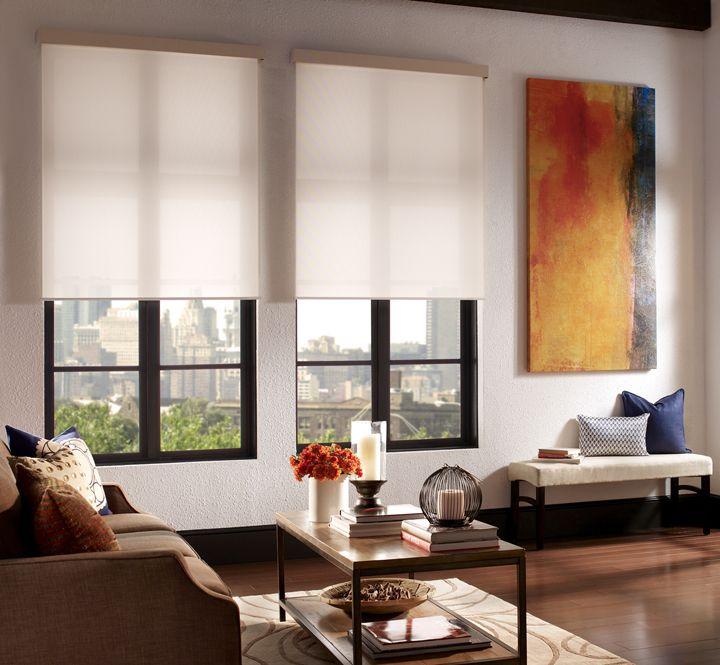 Qmotion Shades Mid Century Living Room Mid Century Modern