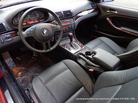 2005 Bmw 330ci Convertible Interior Bmw Series Bmw Convertible
