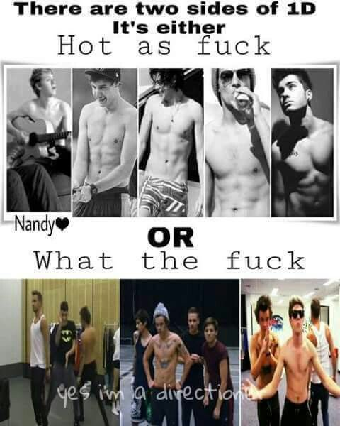 I think we can all agree, we love both sides of the boys :)