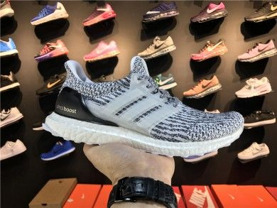 6c9e87703a9 Lightweight Adidas Ultra Boost ad-UB Really Explosive S80685 White  Black Grey