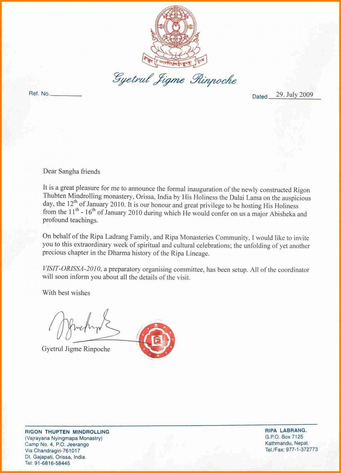 Letter Template Informal 4 Facts About Letter Template