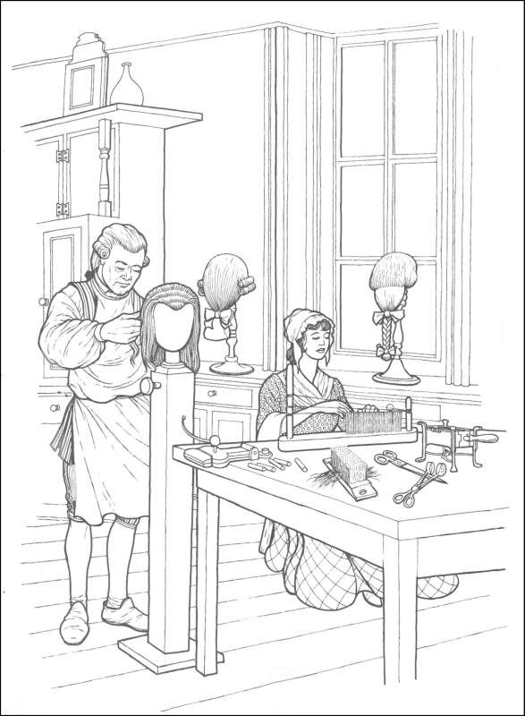 Early American Trades Coloring Book | Additional Photo (Inside Page ...