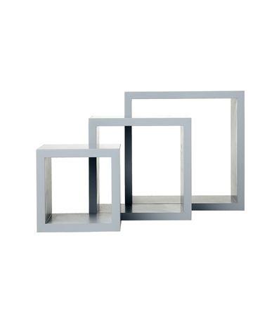 lot de 3 étagères cubes – HEMA