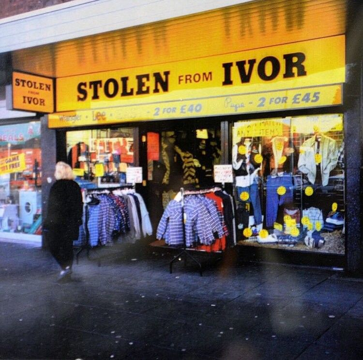 Stolen From Ivor Manchester City Centre The Good Old Days Childhood Images