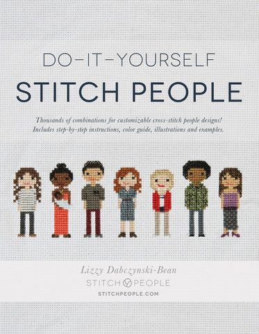 Do it yourself stitch people book pattern design cross stitch and do it yourself stitch people cross stitch pattern design book solutioingenieria Choice Image