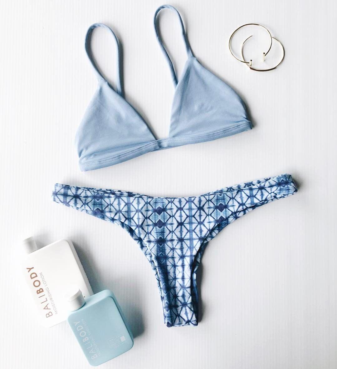 ee5581405980e0 withflowersinyourhairxo:Absolutely love my new Chooks bikini from Boutine LA !
