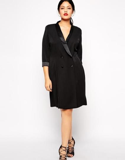 20 Insanely Chic Plus Size Pieces To Buy Now Pinterest Tux Dress