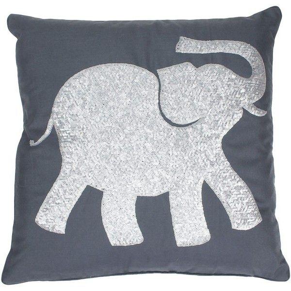Thro By Marlo Lorenz Elazar Elephant Sequin Throw Pillow Elephant Throw Pillow Animal Throw Pillows Throw Pillows