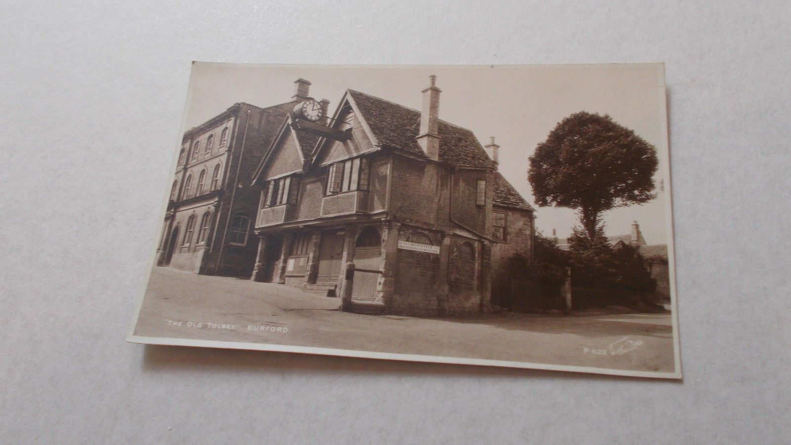 old postcard the old tolsey burford | ebay | oxfordshire views
