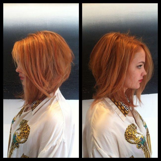 Półdługie fryzury w najpiękniejszym wydaniu DUŻA G