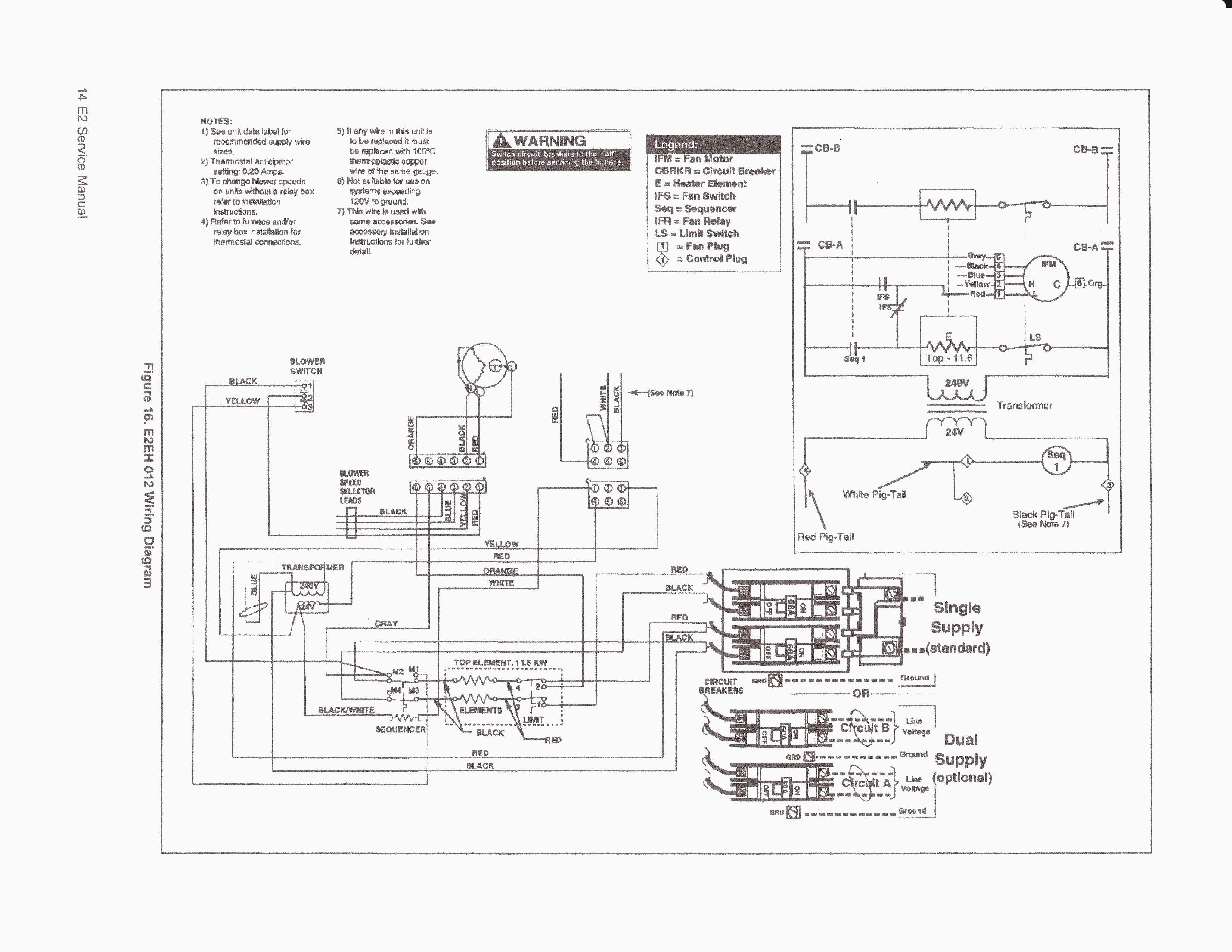 Unique Westinghouse Electric Furnace Wiring Diagram