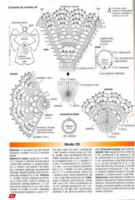 Edivana Croche: Anjo e Poço em Croche