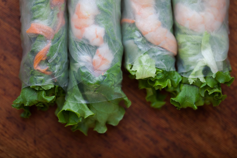 Jade bistro gluten free restaurants salad rolls menu