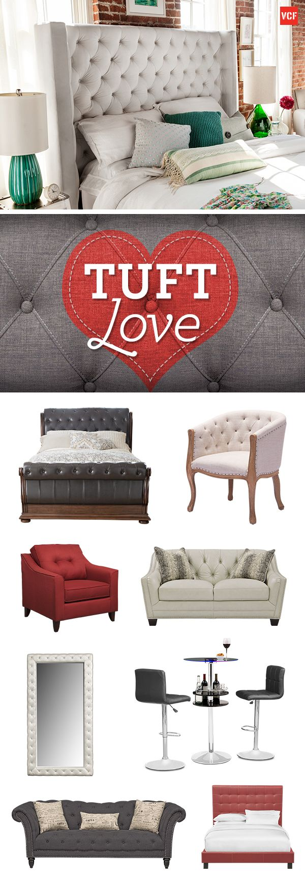 Find all the plush and luxuriously tufted furniture youve been looking for with the