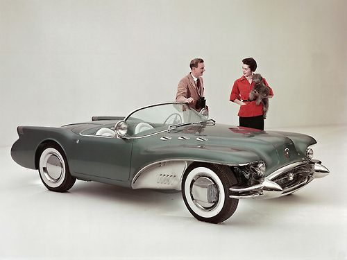 1954 Buick Wildcat II Concept.