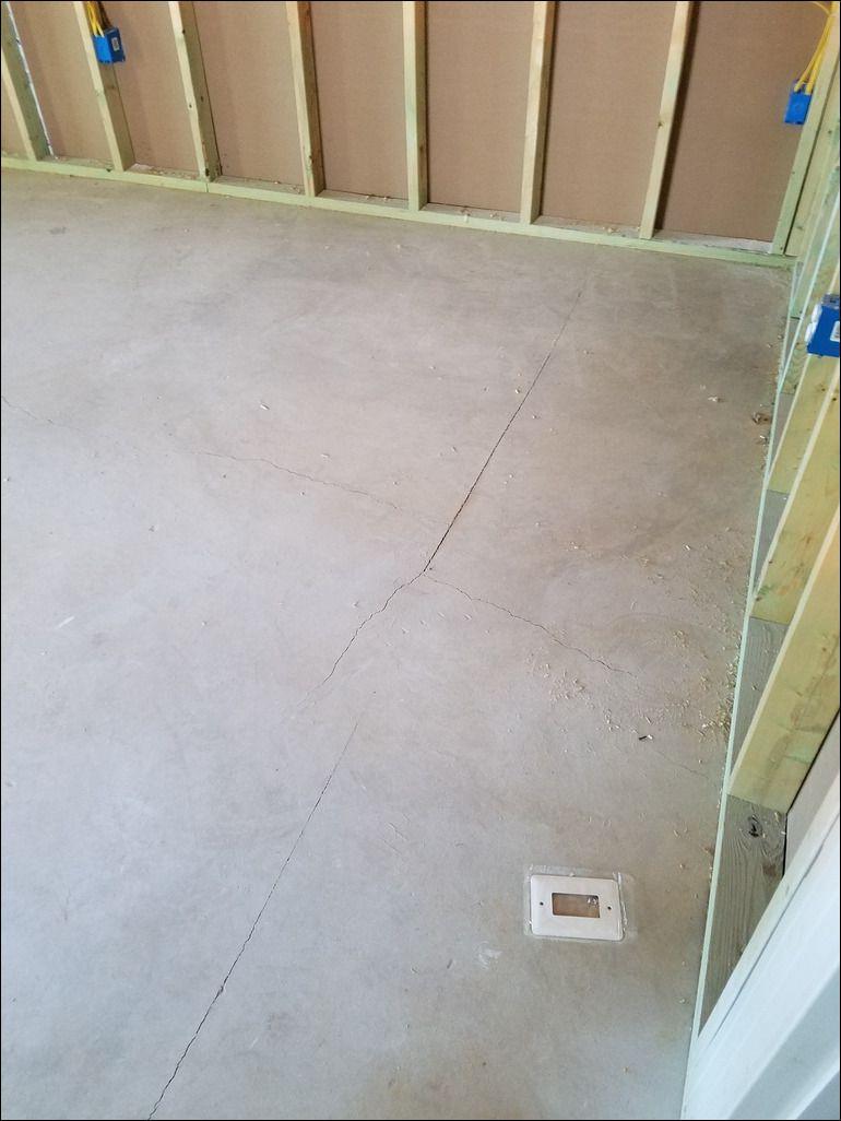 Hairline Cracks In Basement Floor Basement flooring