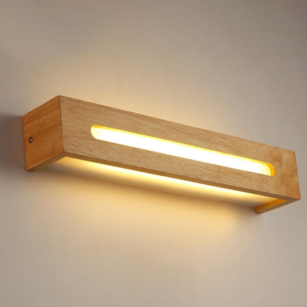 Nordic Einfache Und Elegante Flur Wandlampe Schlafzimmer Nachttischlampe Holztreppe Vor Dem Badezimme Wall Lamp Design Wooden Lamps Design Ceiling Light Design